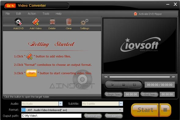 Ainsoft MKV Video Converter