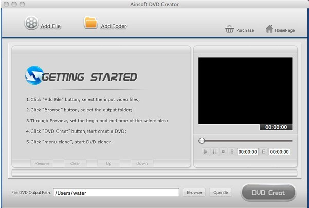 iovSoft DVD Creator for Mac