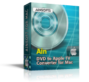 Ainsoft DVD to Apple TV Converter for Mac